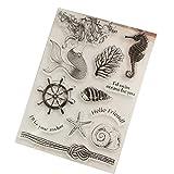 Groy Transparent Timbre BRICOLAGE Silicone Joints Scrapbooking/Carterie/Photo Album Décoration