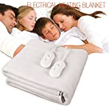 CEXPRESS - Manta Eléctrica Doble Electrical Heating Blanket 160 x 140 cm