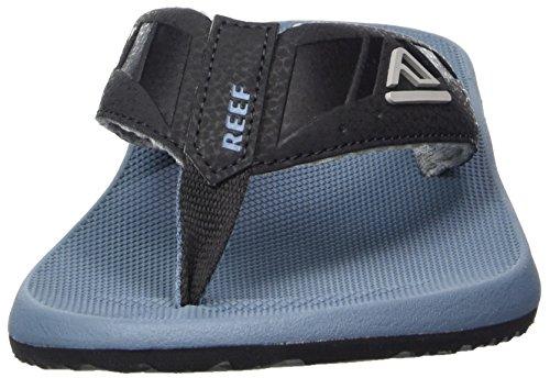 Reef - Phantoms, Flip-flop Uomo Blu (Black & Steel Blue)