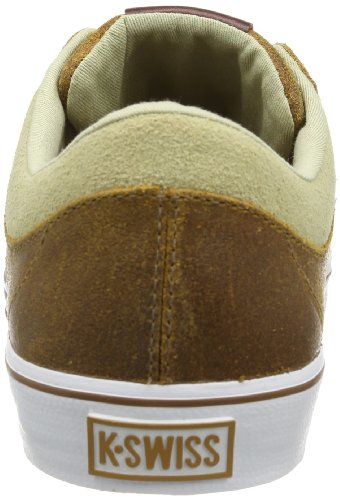 K-Swiss Adcourt La P Vnz, Baskets mode homme Bianco (Weiß (Wheat/White/Khaki))