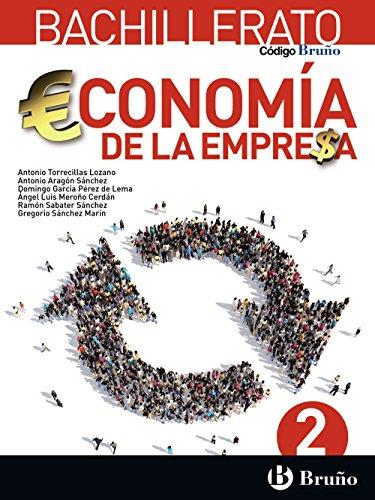Portada del libro Código Bruño Economía de la Empresa 2 Bachillerato - 9788469611678
