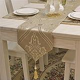 FaceToWind High-End Luxus Tischfahne, Tisch Couchtisch Couchtisch Tischdecke, Moderne Minimalistische Mode-Stil, 30250cm