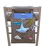 Blausberg Baby - Utensilo passend zum Sitzkissen für den Tripp Trapp - taupe mit Sternen