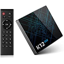 (Offerta) Bqeel K12 Pro Android TV Box / Android 6.0 OS / Amlogic S912 Qcta Core ARM Cortex-A53 CPU / 2G DDR3 + 32G Emmc /Dual Band WiFi / 1000M LAN / Bluetooth 4.1 /4K