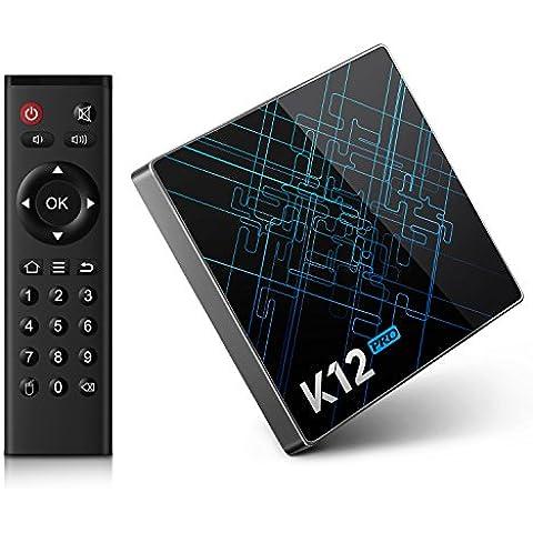 Bqeel K12 Pro Android 6.0 tv box Amlogic S912 Octa core 2GB + 32GB eMMC con 16.1 KODI (XMBC) preinstalado doble banda WiFi Bluetooth 4.1 Smart tv