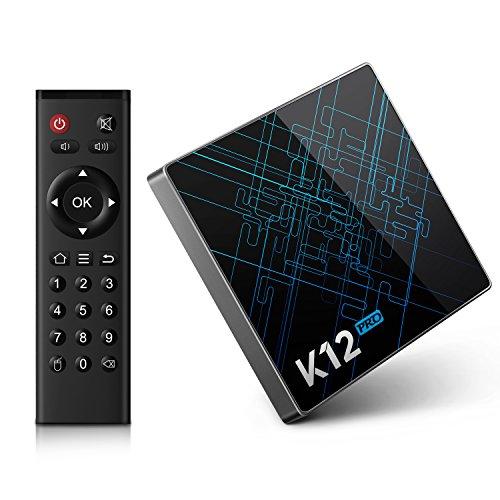 Bqeel K12 Pro Android 6.0 tv box Amlogic S912 Octa core 2GB + 32GB eMMC con 16.1 KODI (XMBC) preinstalado doble banda WiFi Bluetooth 4.1 Smart tv box