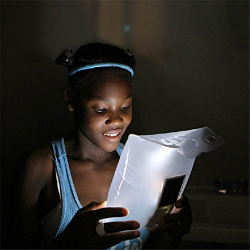 MEIWEI Gonfiabile portatile impermeabile Campeggio Lanterna di emergenza LED luce solare