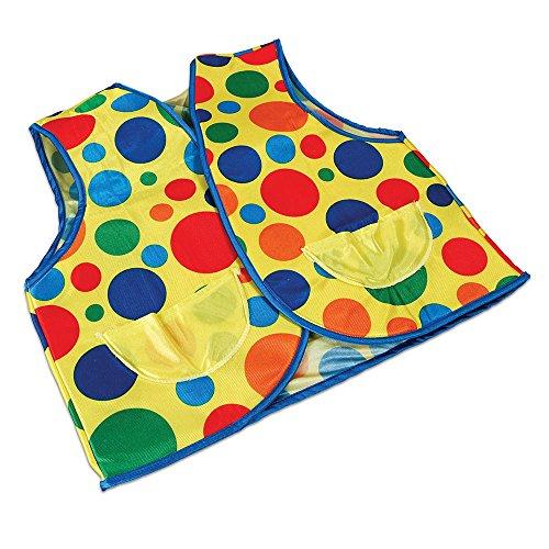 Bristol Novelty BA789 Clown Weste, Unisex- Erwachsene mehrfarbig Einheitsgröße (Männliche Harlekin Kostüm)
