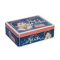 NATIVES 610170 A la belle étoile Boîte à thé de 6 compartiments Métal Multicolore 20 x 14,5 x 6,5 cm