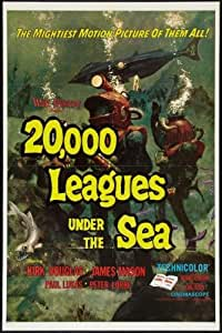 20000 Leagues Under The Sea Movie Poster 28 cm x43cm 11inx17in