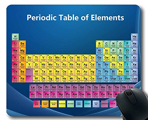 Mauspads, Mauspad für Periodensystem, Chemiker, Dickes Gummi-Mousepad