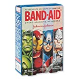 Best Band-Aid Adhesive Bandages - Band-Aid Assorted Adhesive Bandages, MARVEL AVENGERS, 20 Count Review