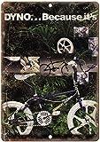Sary buri Dyno Freestyle BMX en Métal Plaque Mur Art Peinture Décoration