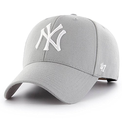 63ab4ad75982b Imagen de curva gris snapback de new york yankees mlb mvp de 47 brand gris