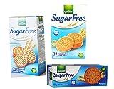 Zucker Frei Kekse Kekse Selektieren 3 Kartons Butterkeks, Digestives, Maria. Gullon