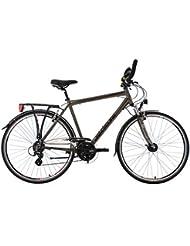 KS Cycling Herren Trekkingrad Norfolk Multipositionslenker RH 53 cm KS Cycling Fahrrad, Bronze, 28