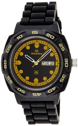 Maxima Analog Black Dial Men's Watch - 27811PPGW image