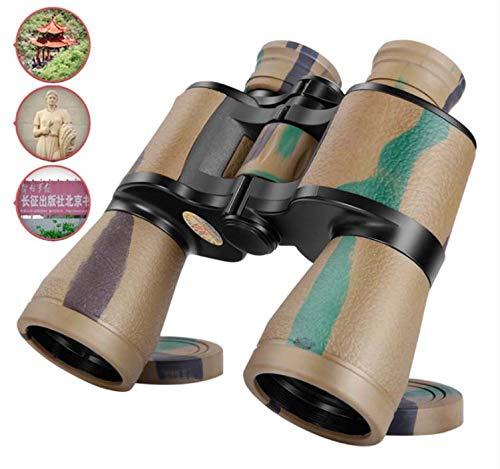LFFCC Fernglas, 20 × 50 High Power klares Nachtsichtteleskop, wasserdichter, Rutschfester Tarnung-Entfernungsmesser, zur Vogelbeobachtung und zur Besichtigung von Wildlife