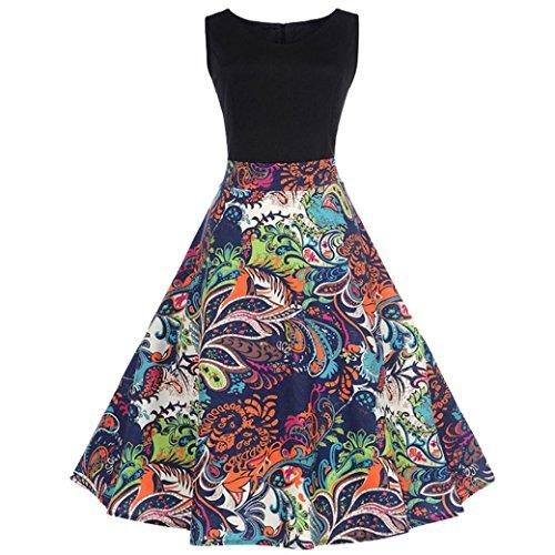 ESAILQ Damen hochwertige online bestellen romantische Tops gestreift Blumen Blumenmuster blau Gestreifte schwarz weiß gepunktet cremefarben (XL,Schwarz) Designer Dress Form Set