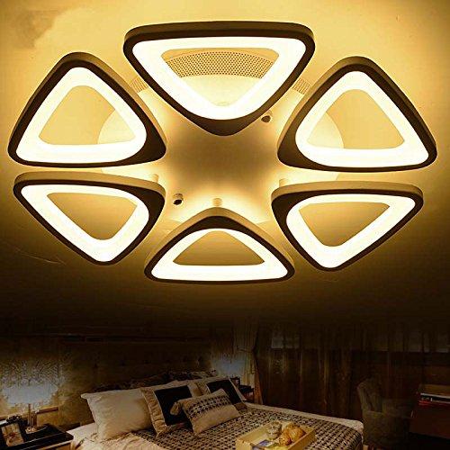 KHSKX Modernes, minimalistisches Wohnzimmer lampe led die Atmosphäre der Zimmerdecke Dreieck der Kunst Ideen Buch Eigentümer Schlafzimmer Lampe 50cm