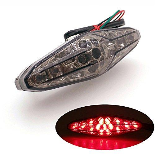 BAAQII 12V 24 LED Rouge 3/ème Voiture Universelle Haute Montage arr/êt de Frein feu Stop Voyant Lampe
