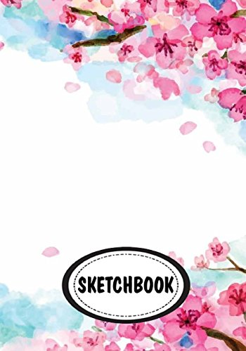 Sketchbook: Cherry blossom 04 : 110 Pages of 7