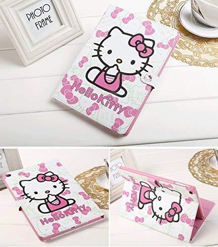 Apple iPad Mini 321Fall, livitech (TM) Hello Kitty Design Folio Stil PU Leder Hard Case für Apple iPad Mini 123, Pink (Hard Hello 2 Case Kitty Ipad)