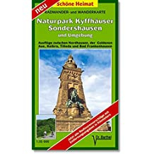 Radwander- und Wanderkarte Naturpark Kyffhäuser, Sondershausen und Umgebung: Ausflüge zwischen Nordhausen, der Goldenen Aue, Kelbra, Tilleda und Bad Frankenhausen. 1:35000 (Schöne Heimat)