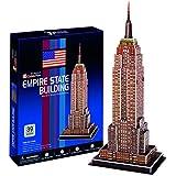"""CubicFun 3D Puzzle C-Serie """"Edificio Empire State - Ciudad de Nueva York"""""""
