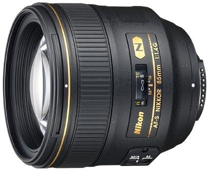 Nikon AF-S 85MM F1.4G - Objetivo para montura F (distancia focal 85 mm, apertura f/1.4) negro