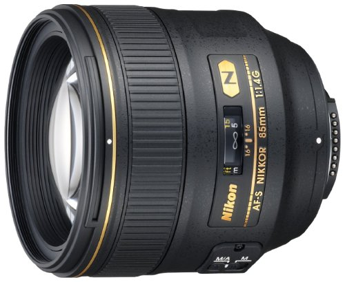 Nikon Teleobiettivo Professionale AF-S 85 mm 1:1.4 G, Attacco Filettato, 77 mm, Incluso Paraluce HB-55