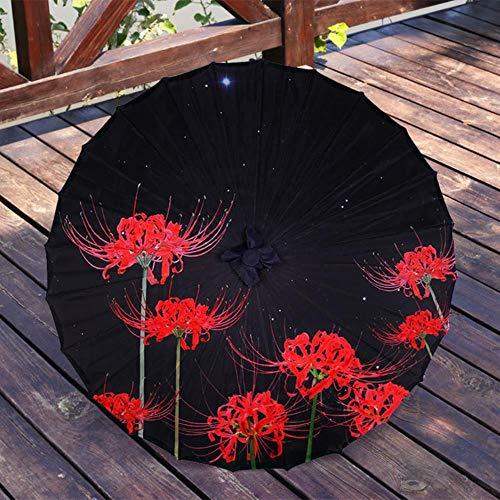 ETHAN Chinesische Geöltes Papier Regenschirm Seide Hanfu Alte Kostüm Frau Cos Foto Dekoration Tanz Paraguas Mujer Bianhua (Chinesische Tanz Kostüm Männer)