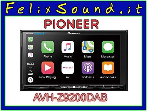 Pioneer AVH-Z9200DAB, WLAN, Apple CarPlay, Android Auto -