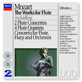 Mozart: Flute Concerto No.1 in G, K.313 - 3. Rondo (Tempo di Menuetto)