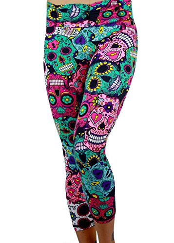 bela-fit-brazilian-capris-sugar-skulls-authentic-made-in-brazil-activewear-athletic-workout-tights