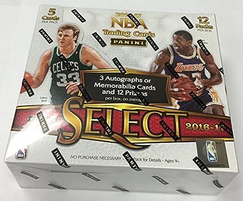 2016/17 Panini Select Basketball Hobby Box NBA