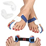 FeetFix Bunion Corrector Toe Splint Kit – 5 Piece Set for Hallux Valgus