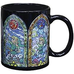 Abysse Corp GIFPAL298 Multicolor Té 1pieza(s) taza y tazón - Taza/vaso (Té, Solo, 0,32 L, Multicolor, Cerámico, Zelda)