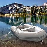 Jago Schlauchboot mit Holzboden, 270x152cm/474 kg | Ruderboot, Paddelboot, Gummiboot, Sportboot, Angelboot