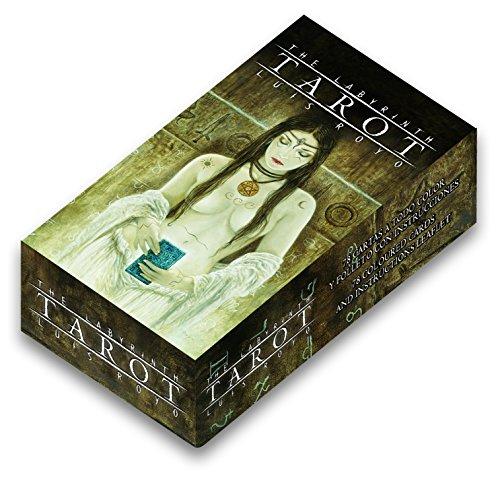 Générique Fournier - 32852 - Jeu de Société - The Labyrinth Tarot (by Luis Royo)