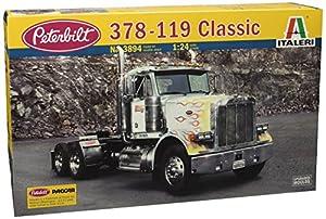 Escala Italeri Kit clásico Peterbilt Truck 378-119 3894S 01:24