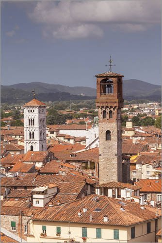 forex-platte-80-x-120-cm-the-rooftops-of-the-historic-centre-of-lucca-tuscany-italy-europe-von-julia