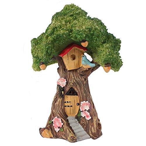 Fairy Garden Tree House, Kunstharz Fairy Garden Box