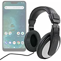 DURAGADGET Auriculares De Diadema para Smartphone DOOGEE X55, Ulefone S8 Pro, Xiaomi Mi A2