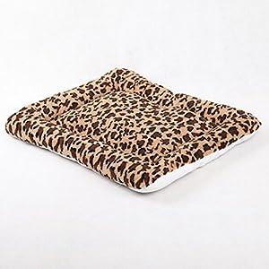 vlunt?Pet Pad Tapis 50*50cm Petit Big Cage pour chien chat chiot chenil Maison Lit doux Cozy