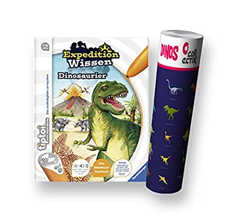 Ravensburger tiptoi ® Buch Expedition Wissen Dinosaurier + Dino Poster by Collectix