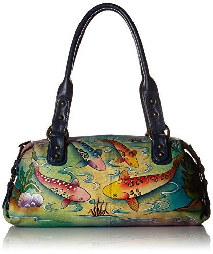 anuschka-womens-anna-handpainted-leather-top-zip-satchel-shoulder-handbag-koi-fish-one-size