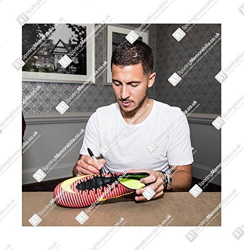 Framed Eden Hazard Signed Football Boot – Chelsea – Chelsea Store b89a2e861cd