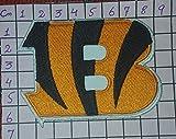 Cincinnati Bengals Langarmshirt Logo I Embroidered Iron Patches