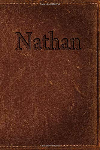 Nathan: Simulated Leather Writing Journal por Rob Cole